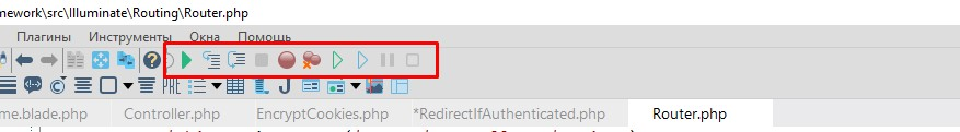 панель php отладки